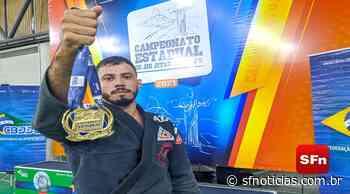 É ouro! Atleta de Cambuci sobe ao pódio no Campeonato Estadual de Jiu-jitsu Olímpico - SF Notícias