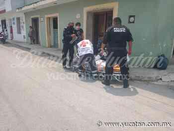 Encuentran a una mujer semiinconsciente en calles del centro de Ticul - El Diario de Yucatán