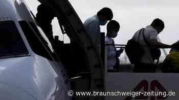 Flüchtlinge: Hannover: Letzter Flug aus griechischen Flüchtlingslagern