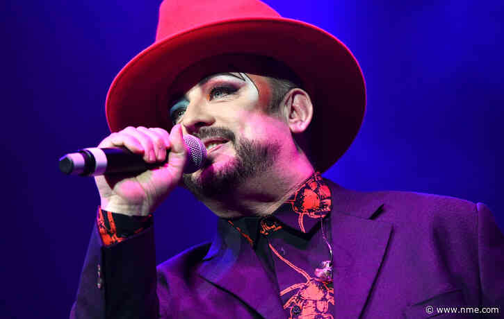 Boy George gives update on 'Karma Chameleon' biopic cast in new video