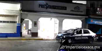 Frustran robo en Tehuantepec - El Imparcial de Oaxaca