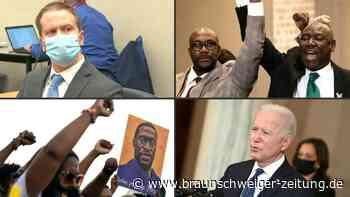 Floyd-Prozess: Ex-Polizist Chauvin schuldig gesprochen