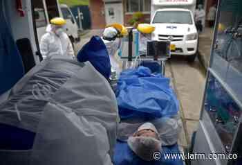 Coronavirus en Colombia: sigue aumentando el número de muertes diarias, pero bajan casos activos - La FM
