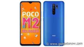 Poco M2 Reloaded launched with 4GB RAM and 64GB storage, first sale at 3pm today