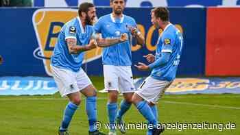 Video: 60. Treffer von Mölders reicht nicht für TSV 1860 gegen Viktoria