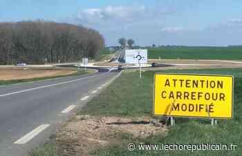 Transport - Un nouveau rond-point sur la D906, entre Maintenon et Lèves - Echo Républicain