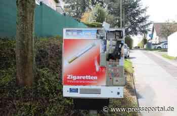 POL-RBK: Leichlingen / Burscheid - Zwei Zigarettenautomaten aufgebrochen - Presseportal.de