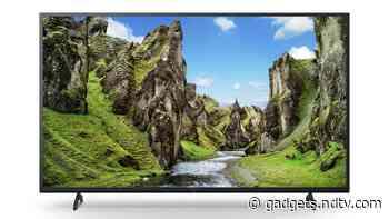 Sony Bravia X75 Ultra-HD HDR Smart Android TV Series Launched in India, Priced at Rs. 59,990 Onwards