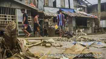"""Unwetter: Philippinen:Mindestens sieben Tote durch Taifun """"Surigae"""""""