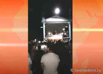 En rumba terminó sepelio en Pueblorrico - Telemedellín