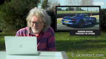 Watch James May talk trash about YouTubers' cars