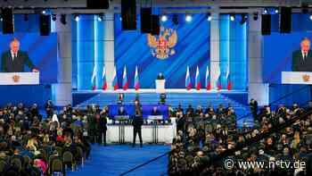 """""""Werden ihre Taten so bereuen"""": Putin droht westlichen Staaten"""