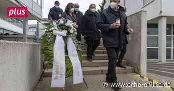 Riedstadt und Gernsheim gedenken der Corona-Opfer - Echo Online