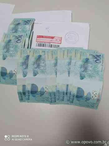 Dois homens são presos pela PF ao receber dinheiro falso em Itaitinga - O POVO