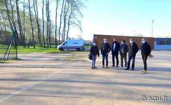La ville d'Evron aura son terrain de football synthétique pour la rentrée - actu.fr