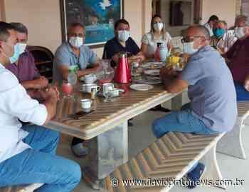 Lideranças de Mauriti recebem Audic Mota - Flavio Pinto