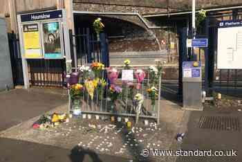 Hounslow death: Tributes laid outside west London station after man dies following police chase - Evening Standard
