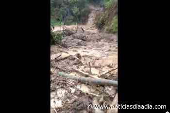 Invierno: Alerta Roja en Ubalá, Cundinamarca - Noticias Día a Día