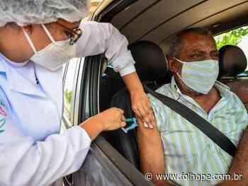 Camaragibe realiza drive-thru apenas para segunda dose da vacina, nesta quinta-feira (22) - Folha de Pernambuco