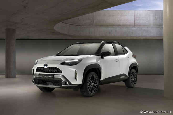 New Toyota Yaris Cross SUV to cost from £22,515