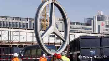 Wegen Chip-Krise: Daimler schickt Tausende in Kurzarbeit