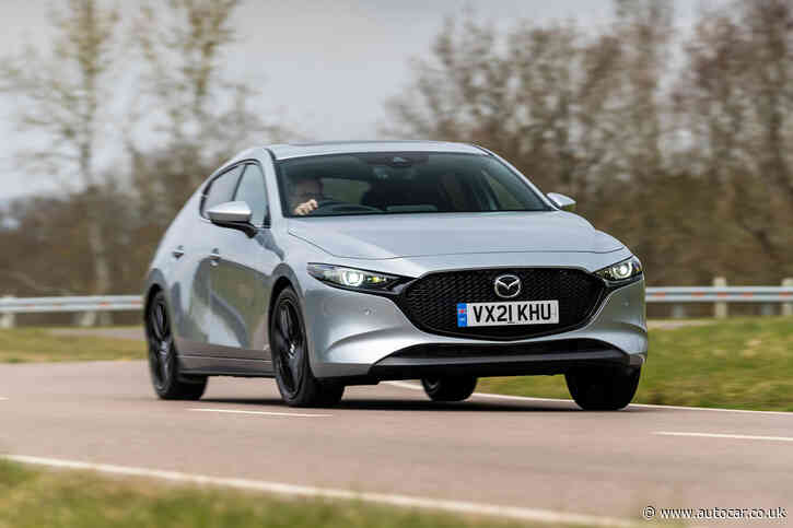 Mazda 3 e-SkyActiv X GT Sport 2021 UK review