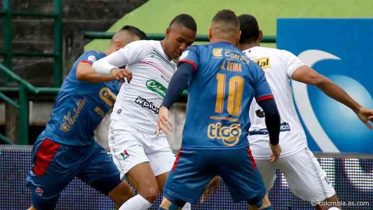 Once Caldas 2 - 0 Medellín: Resultado, resumen y goles - AS Colombia