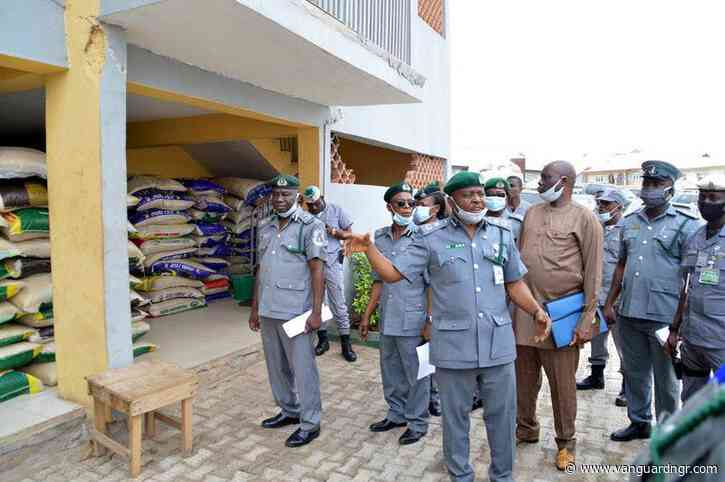 Ogun Customs seizes 7,000 bags of foreign rice in March