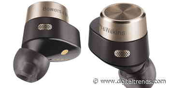 B&W's first true wireless earbuds come with their own Bluetooth transmitter