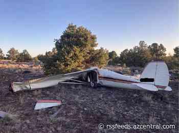 2 from California found dead in plane crash near Williams