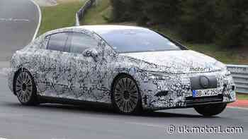 Mercedes EQE spied lapping Nurburgring before September debut