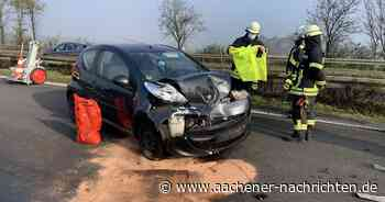 Im Nebel: A46 zwischen Erkelenz und Wanlo nach mehreren Unfällen gesperrt - Aachener Nachrichten