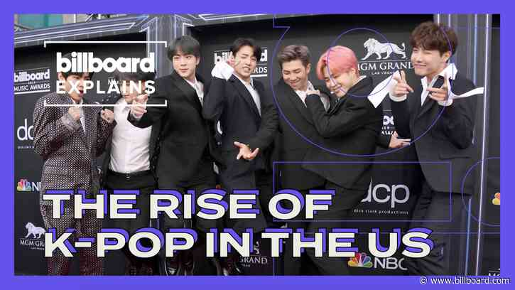 Billboard Explains: The Rise of K-Pop in the U.S.
