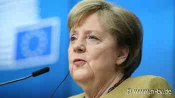 Verträge ändern, falls nötig: Merkel: Bei Gesundheit mehr Macht für EU