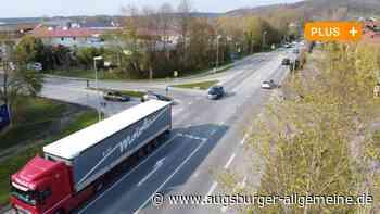 Mühlhausen: Ampel oder Kreisverkehr? Das klärt ein neues Gutachten - Augsburger Allgemeine
