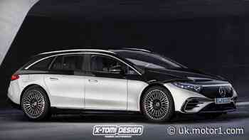 Mercedes EQS estate rendering imagines the unimaginable