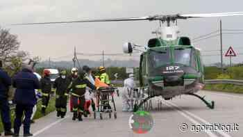 L'auto si ribalta e finisce in un fondo agricolo di Putignano: arriva l'elicottero - Agorà Blog - AgoraBlog