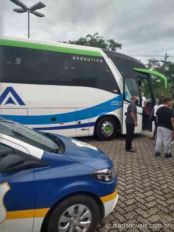 Guarda Municipal de Itatiaia impede entrada de ônibus de turismo... - Diario do Vale