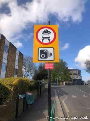 Lewisham Council changes sign around LTN modal filter - News Shopper