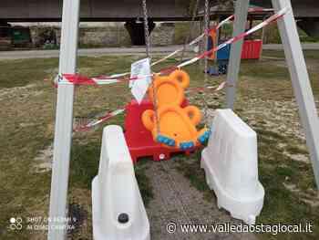 Transenne e blocchi ai giochi dei bimbi; sindaco Gressan, 'riapriremo i parchi prima possibile' - Valledaostaglocal.it