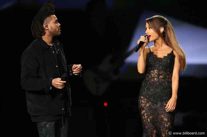 The Weeknd & Ariana Grande Confirm 'Save Your Tears' Remix Is On the Way