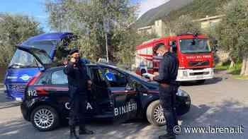 Foto: Autista di bus morto a Malcesine (foto VVF) - L'Arena