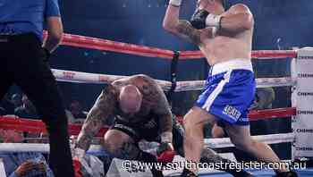 Gallen knocks out Browne in showdown - South Coast Register