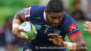 Isi ready to fire Rebels into Super finals - South Coast Register