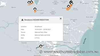 Shoalhaven part of planned hazard reduction burns - South Coast Register