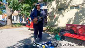 The Nowra busker spreading joy on Junction Street - South Coast Register
