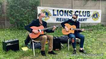 Reims : un concert organisé au pied d'une résidence Crous pour remonter le moral des étudiants - France Bleu