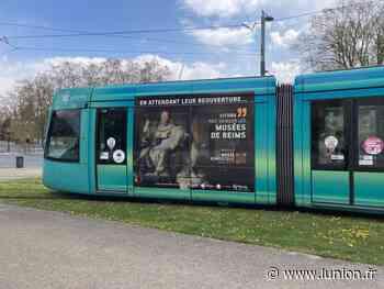 Le musée numérique de Reims s'affiche sur le tramway - L'Union
