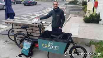 La nouvelle éco : Colvert, société de cyclo logistique à Reims - France Bleu