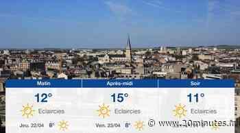 Météo Reims: Prévisions du mercredi 21 avril 2021 - 20minutes.fr